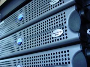 Website Hosting Server Rack